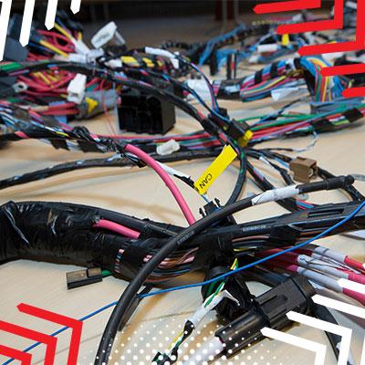 naprawa wiązek elektrycznych
